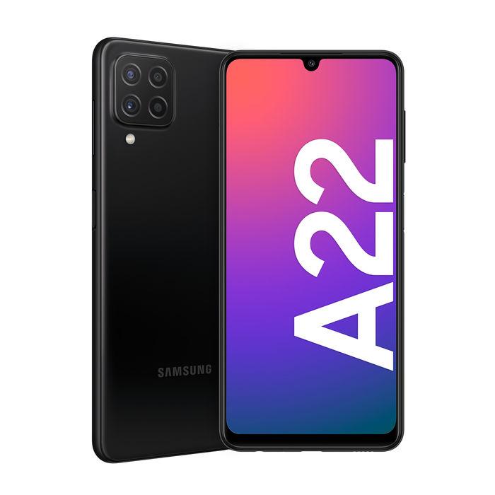 Samsung galaxy A22 sm-a225f/dsn black 64gb
